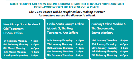 new courses ccrs