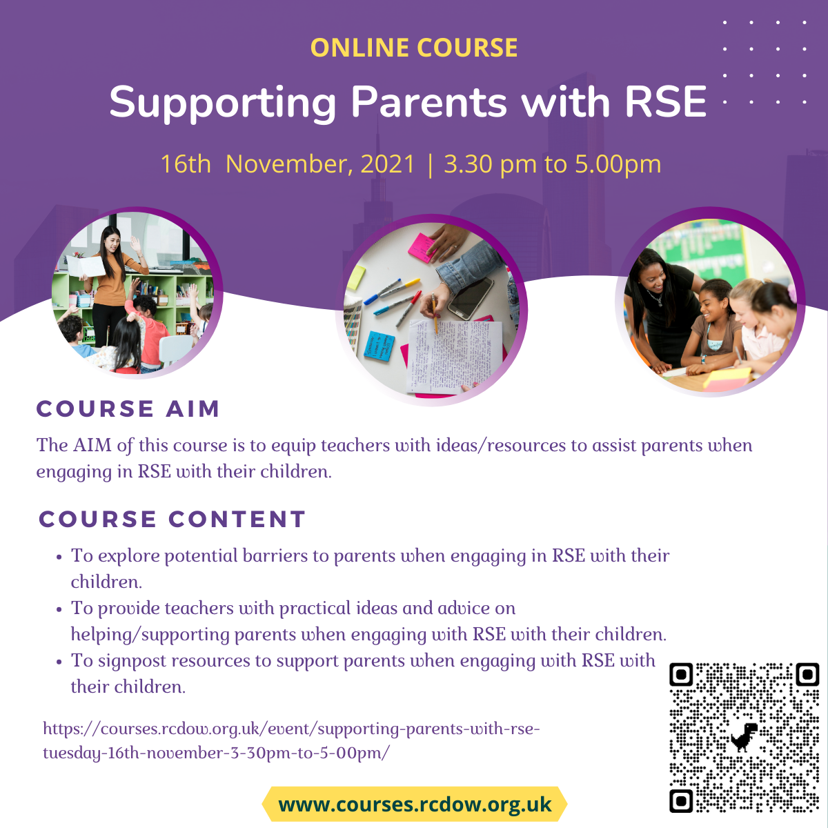Supporting Parents with RSE 16 11 21